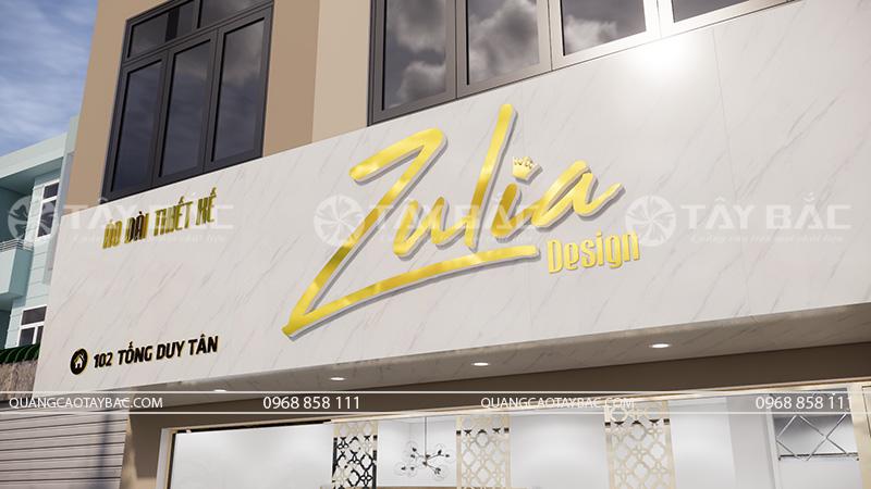 biển quảng cáo áo dài zulia