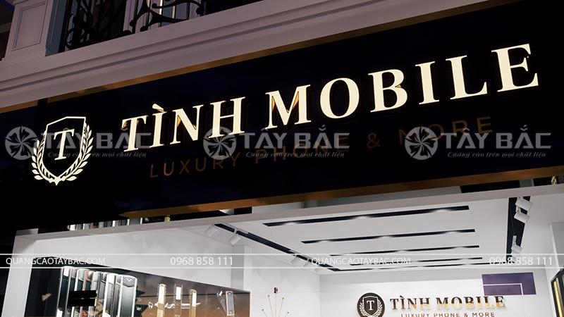 biển quảng cáo phụ kiện điện thoại tình Mobile