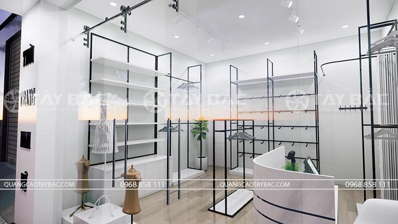 thiết kế nội thất shop Trang My