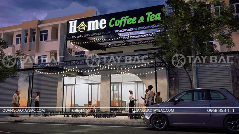 Biển quảng cáo coffee Home